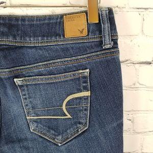 AMERICAN EAGLE | slim stretch bootcut jeans
